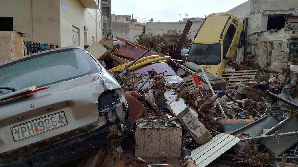 Maltempo: ancora 4 dispersi in Grecia