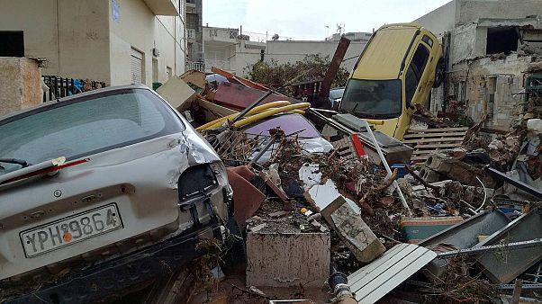 Grèce : les images du sinistre à Mandra