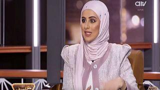 حريق على الهواء خلال برنامج تلفزيوني على قناة عربية