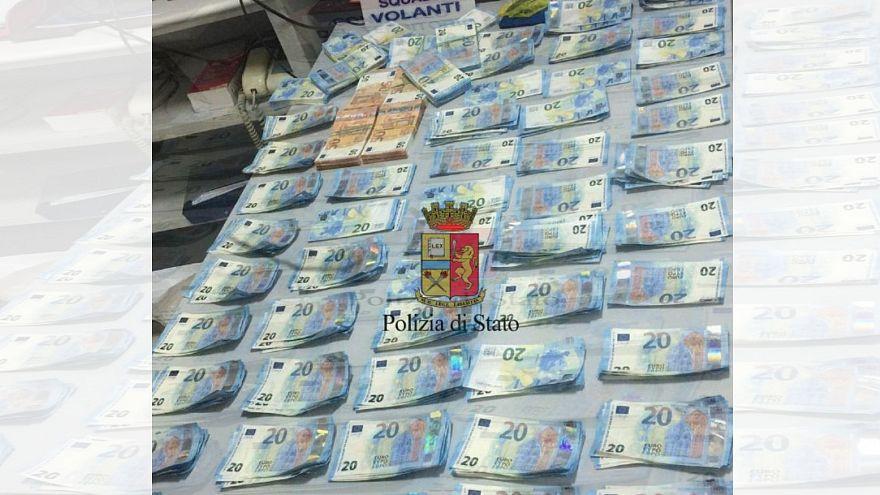 Italie : deux Français arrêtés avec 42 000 € en faux billets