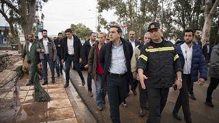Στις πληγείσες από τις πλημμύρες περιοχές ο Έλληνας Πρωθυπουργός