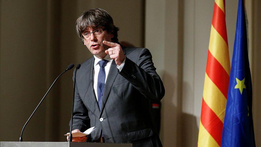 Puigdemont davası Brüksel'de başlıyor