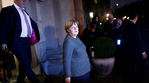 Merkel's migrant crisis stalls coalition talks