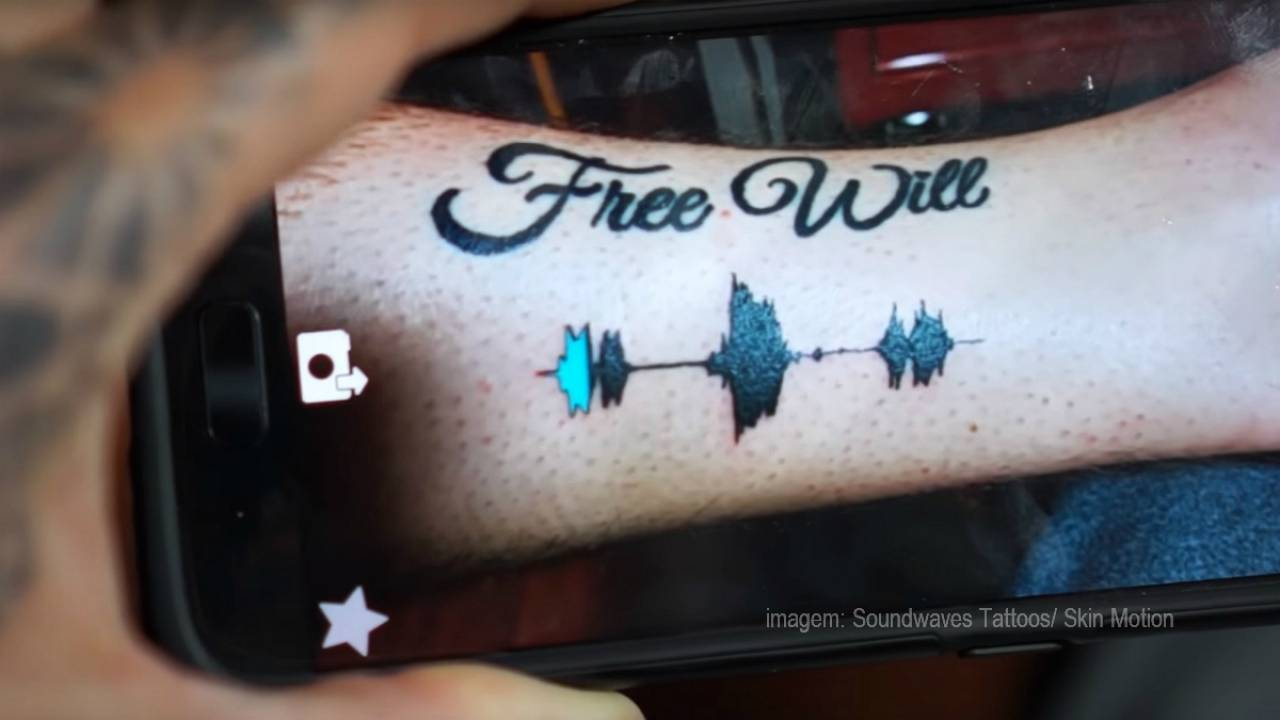 Cool alert! Tattoos you can listen to