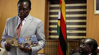 Zimbabwe's exiled veep Mnangagwa reportedly returns