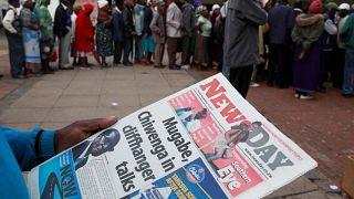 Mugabe lemondását várja a hadsereg