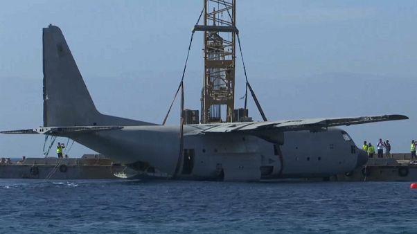 C-130 θα «φιλοξενήσει» τεχνητό ύφαλο