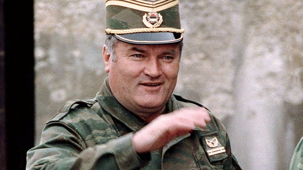 Ex Bosnian Serb leader Ratko Mladic awaits verdict of war crimes trial