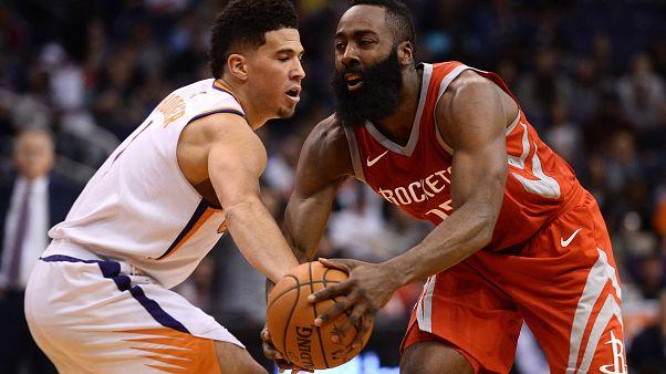NBA'de Rockets ilk yarı skoruyla tarihe geçti