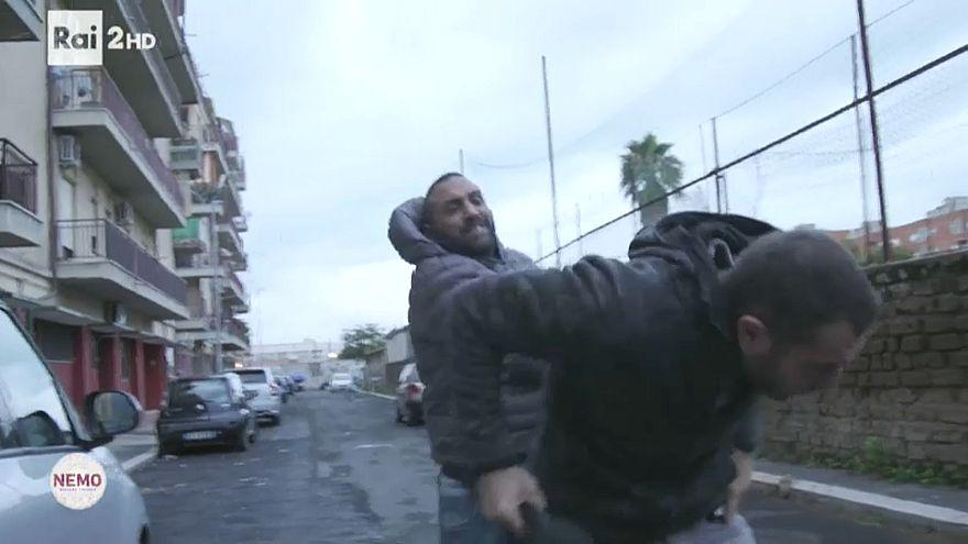 La mafia assedia Roma
