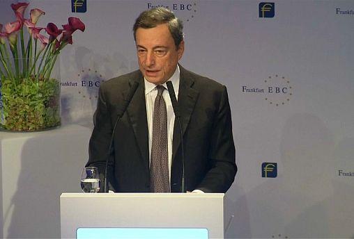 Croissance : Mario Draghi est confiant