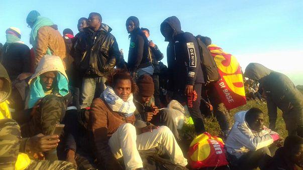 Cientos de  inmigrantes marchan a Venecia para reclamar condiciones dignas
