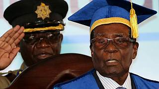 Mugabe makes 'academic' public appearance, first since army takeover