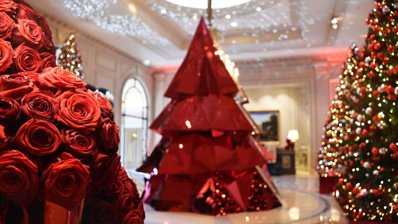 Behind the scenes as the Four Seasons Hotel, Paris, gears up for Christmas