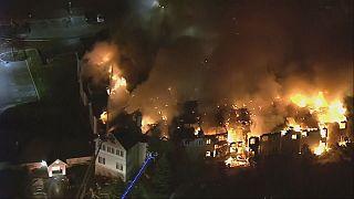 США: пожар в доме престарелых