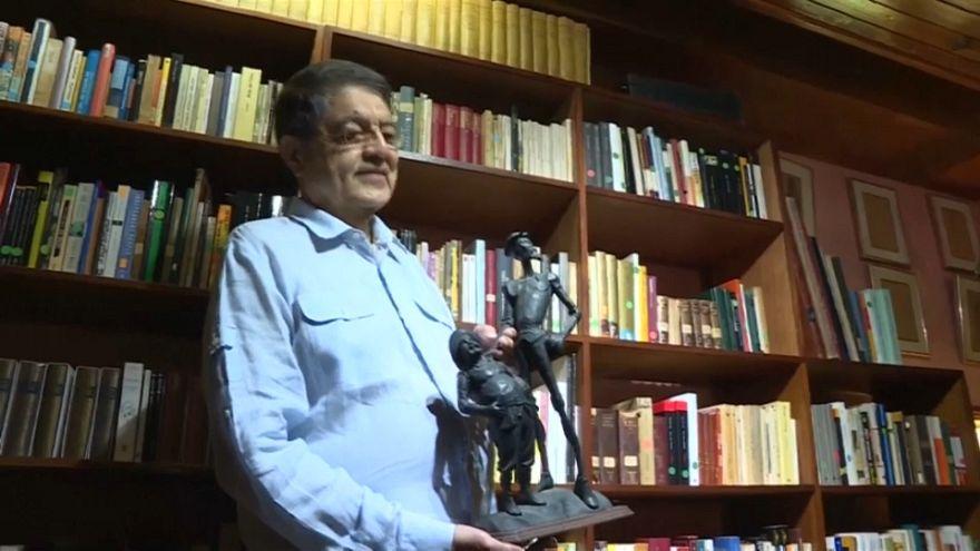 Sergio Ramírez tan campechano tras la concesión del Cervantes