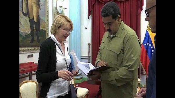 Ex-procuradora quer Maduro a responder no TPI