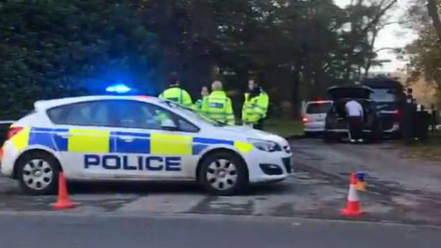 Four people die after helicopter and plane collide in England