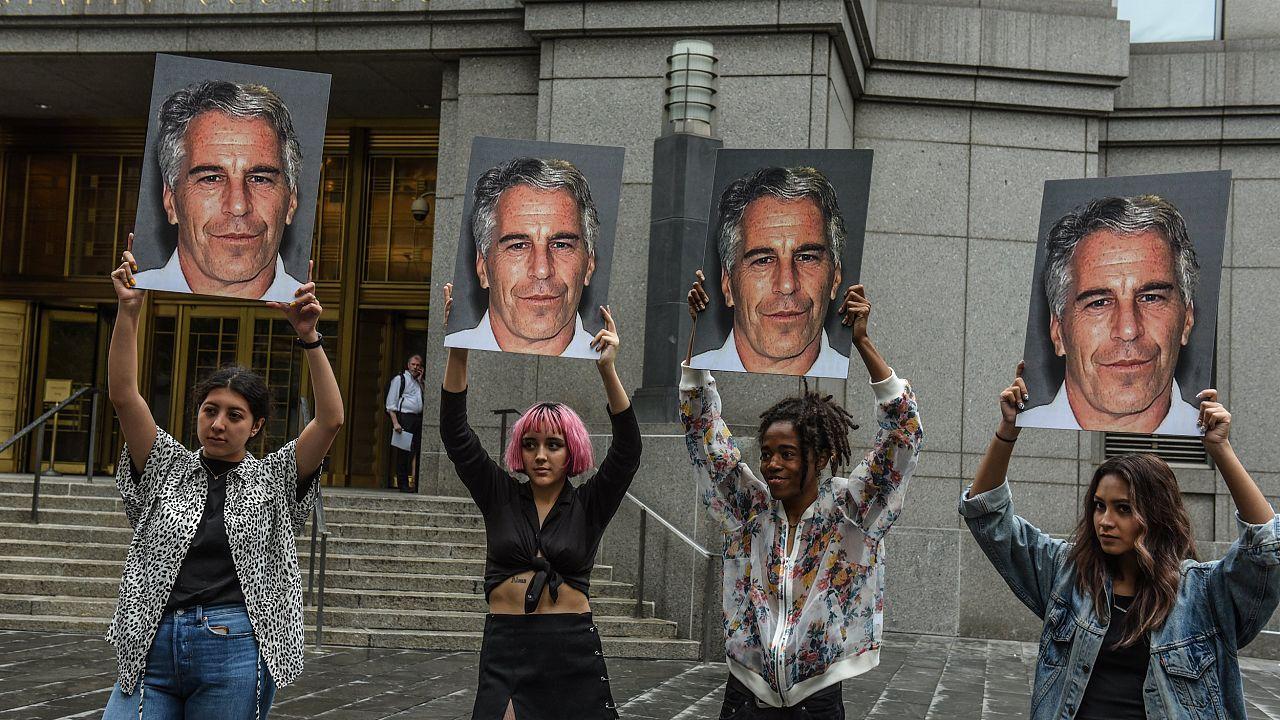 Image: Jeffrey Epstein Appears In Manhattan Federal Court On Sex Traffickin