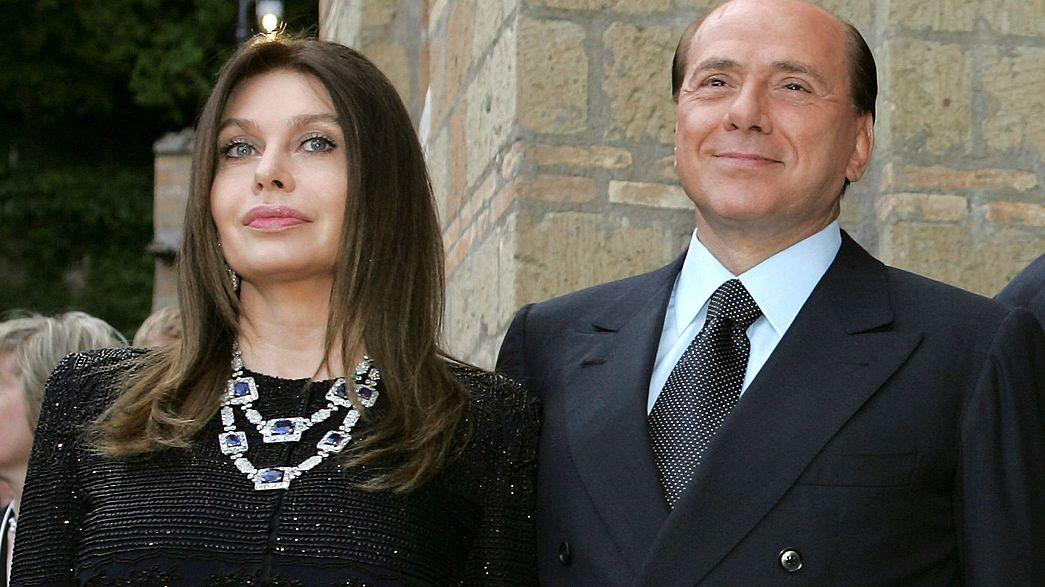 برلسكوني يربح قضية ضد زوجته السابقة