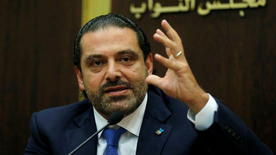 Lebanon's Hariri to meet Macron in Paris