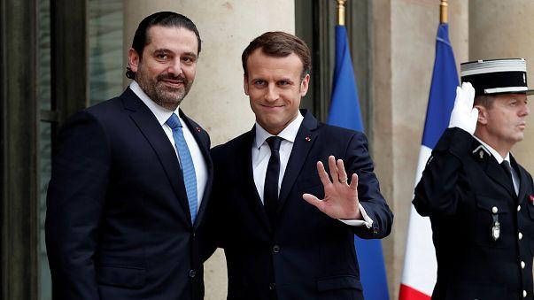 الحريري في باريس