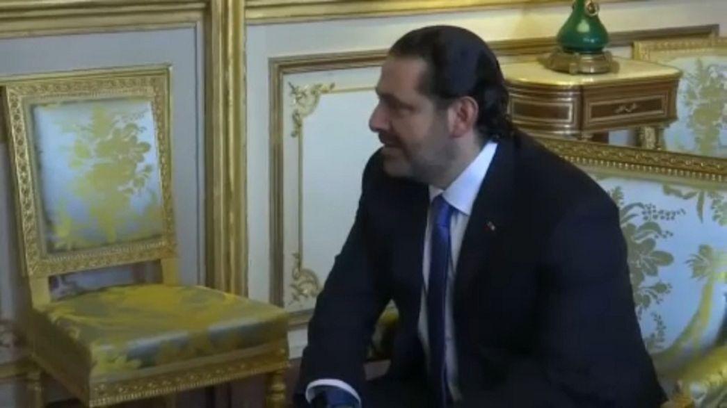 """Hariri da Parigi annuncia: """"Mercoledì torno a Beirut"""""""