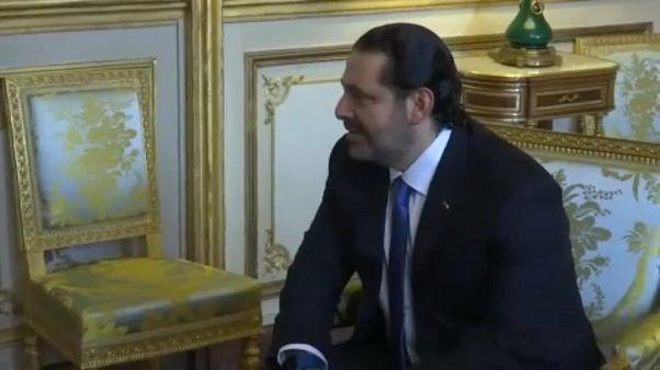Saad Hariri trifft Emmanuel Macron in Paris