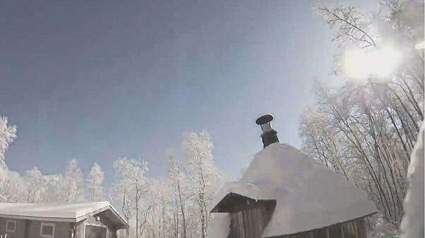 Watch: Meteor lights up night sky as it crashes over Finland