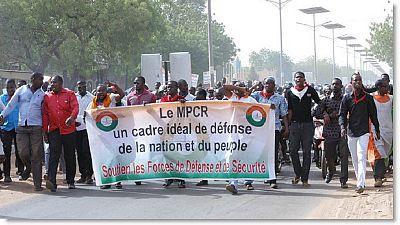 Niger : 5 ans de prison requis contre des dirigeants de la société civile