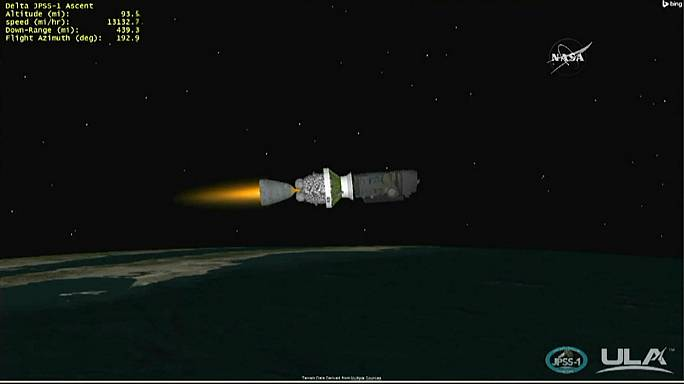 NASA, JPSS-1 meteoroloji uydusunu uzaya fırlattı