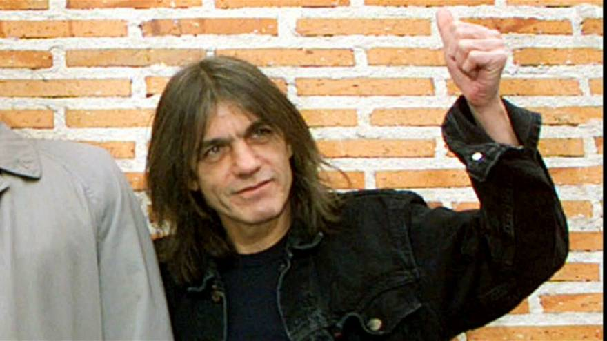 AC/DC co-founder Malcolm Young dies aged 64