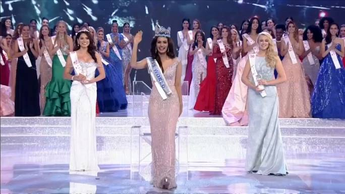 miss india crowned world 2017