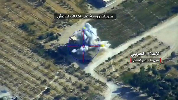 Syrian army attacks Albu Kamal