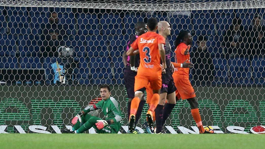 Başakşehir Galatasaray'ı darmadağın etti 5-1