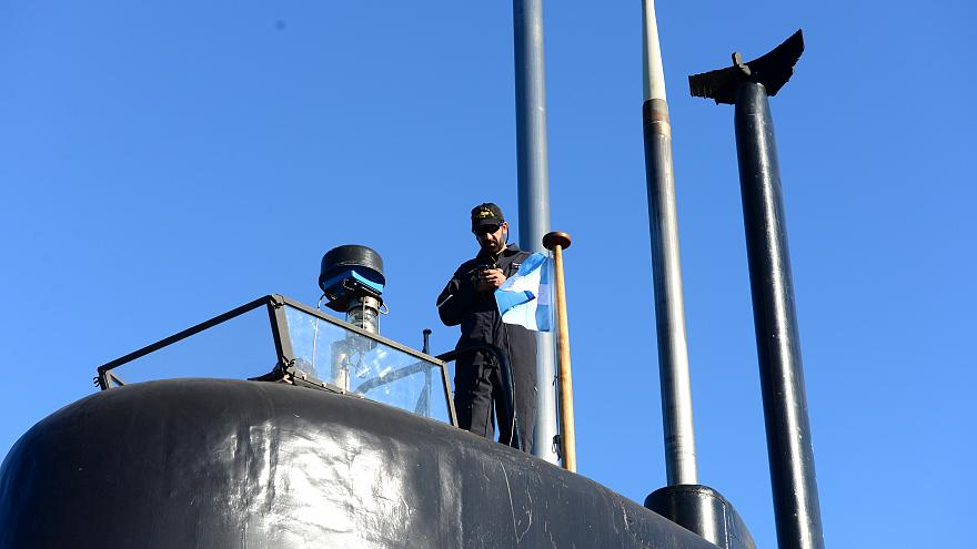 Satellite signals in search for missing Argentine submarine