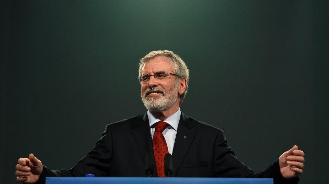 Gerry Adams to step down as Sinn Fein president