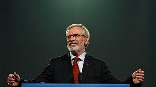 Gerry Adams: 'Lascio la direzione dello Sinn Fein nel 2018'