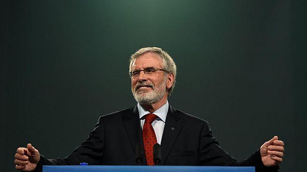Lemondott Gerry Adams a Sinn Féin éléről