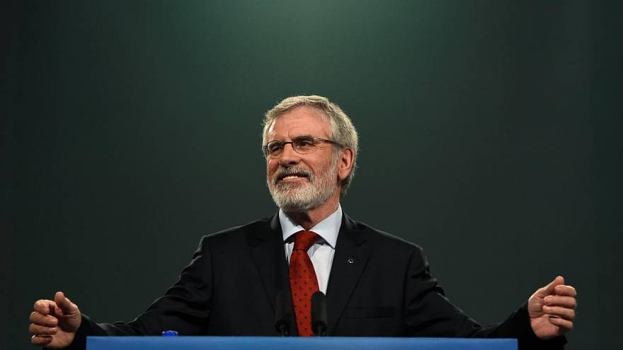 Gerry Adams to step down as Sinn Fein president