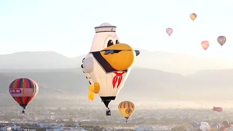 Mexikói Hőlégballon Fesztivál