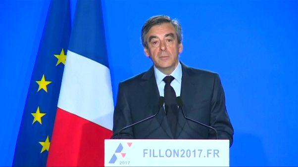 O adeus de Fillon à política