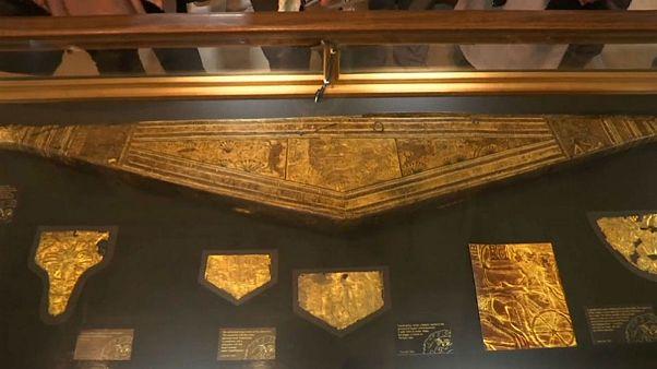 بخشی از گنجینه فرعون توتآنخمون برای اولین بار به نمایش درآمد