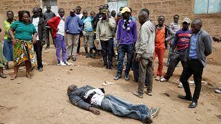 Alta tensão em Nairobi