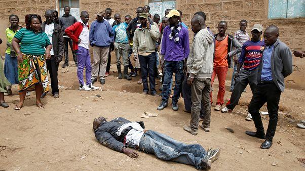 Kenya'da kanlı protestolar
