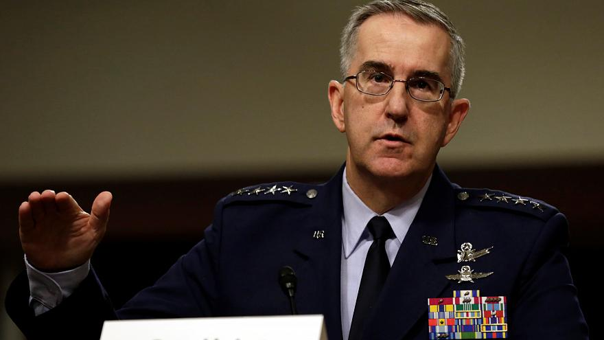 US nuclear commander says he would resist 'illegal' order from Trump