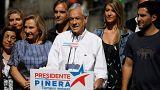Election présidentielle au Chili : Pinera et Guillier en tête