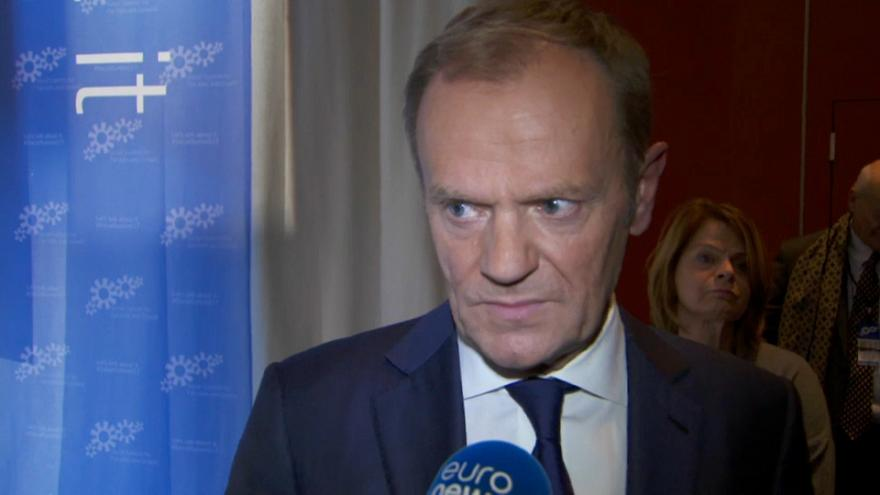 "Tusk says Polish government following ""the Kremlin's plan"""