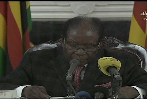 Robert Mugabe refuses to resign as Zimbabwe's President