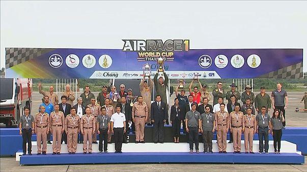 Tim Cone se proclama vencedor de la Air Race 1